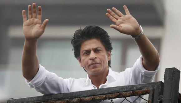 Shah Rukh Khan, estrella de Bollywood, detenido por tercera vez