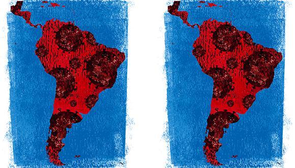 """""""A menos que los países latinoamericanos comiencen a tomar medidas proactivas para evitar que la crisis actual produzca una debacle educativa a largo plazo, será cada vez más difícil para la región competir con otras partes del mundo"""". (Ilustración: Giovanni Tazza)."""