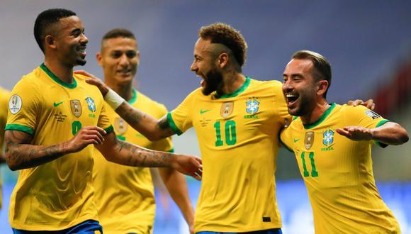 Brasil se enfrenta a Perú esta noche por la fecha 2 de la Copa América 2021.