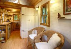 Esta mini casa demuestra que es posible vivir cómodamente en 15m2 | FOTOS