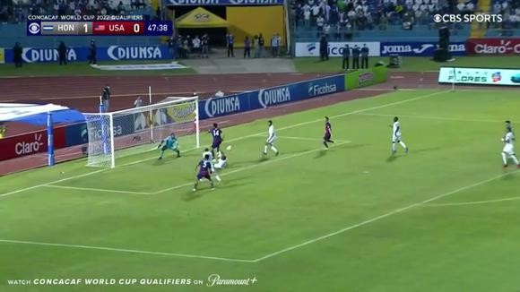 Robinson's goal for Honduras vs USA 1-1