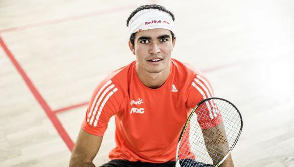 Squash: Diego Elías ya está entre los 20 mejores del mundo