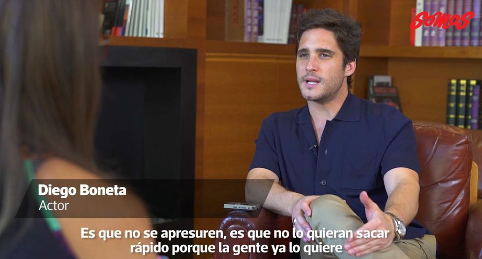 Diego Boneta conversó en exclusiva con Somos. (Foto: Captura de Video)