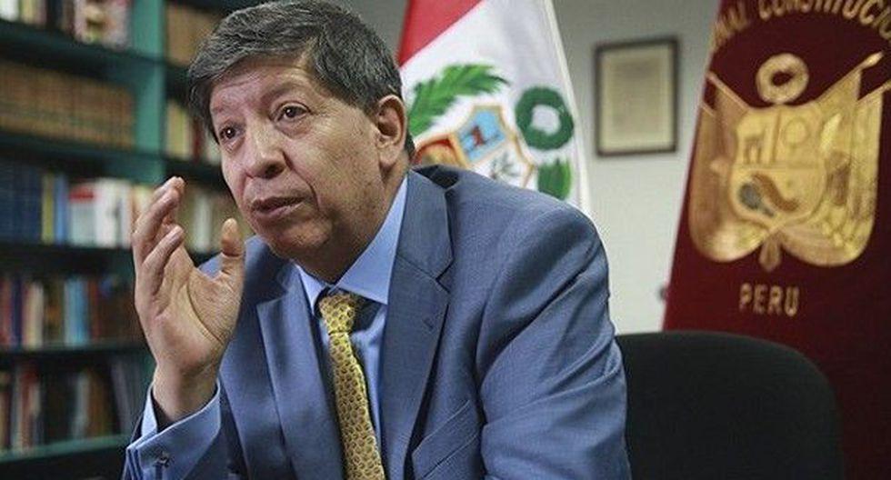 El magistrado del TC Carlos Ramos Núñez especificó que el marco normativo del TC precisa que la figura de recusación no existe. (Foto: El Peruano)