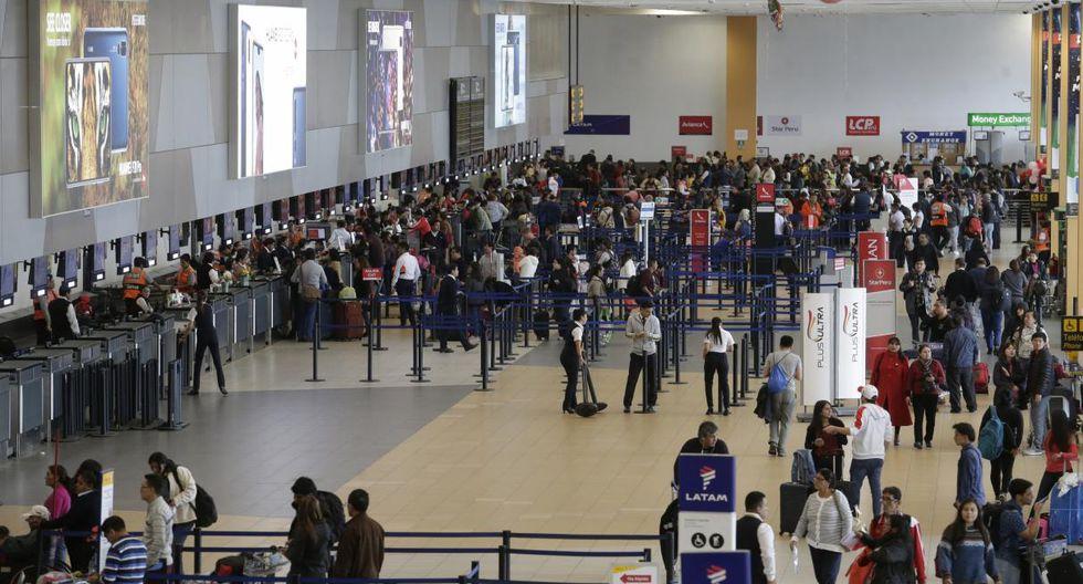 Aeropuerto Jorge Chávez (Foto: Archivo)