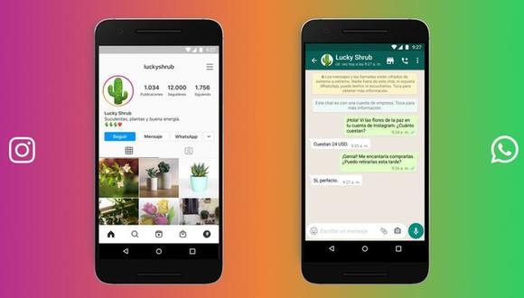 Descubre cómo vincular una WhatsApp a tu cuenta de Instagram (Imagen: Facebok)