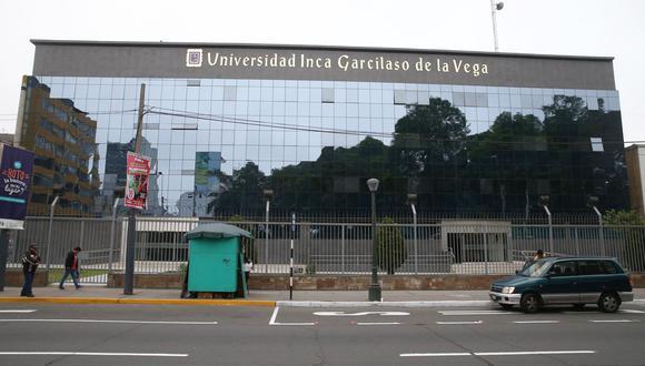 La Universidad Inca Garcilaso de la Vega. (Foto: César Campos/GEC)