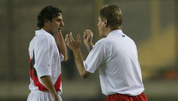 Autuori dirigió a Pizarro en la Selección Peruana. (Foto: GEC)
