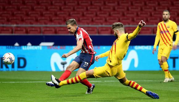 Atlético de Madrid consiguió una importante victoria por 1-0 ante Barcelona por LaLiga Santander | Foto: Atlético de Madrid