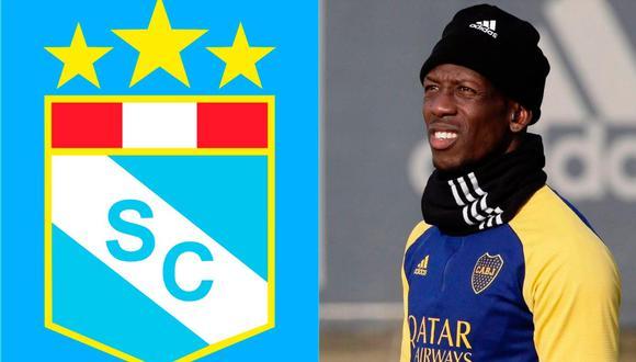 Luis Advíncula fue campeón con Sporting Cristal y ahora fichó por Boca Juniors   Foto: Composición.