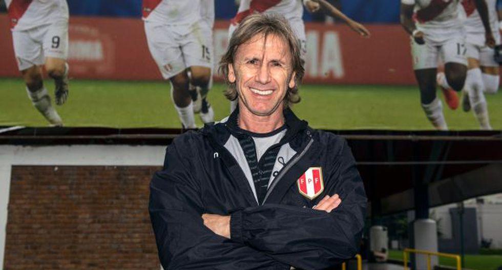 Ricardo Gareca, entrenador de la selección peruana. (Foto: AFP)