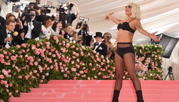Lady Gaga en la Gala MET 2019. (Foto: AFP)