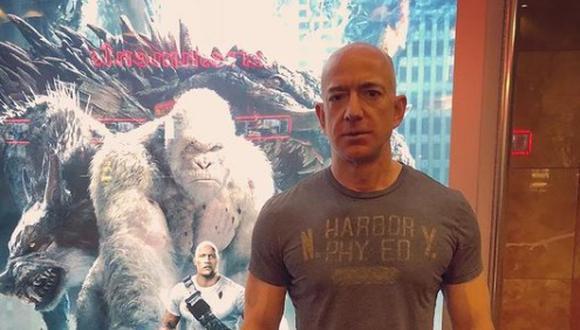 Empresario creador de Amazon Jeff Bezos (Foto: Instagram Jeff Bezos (@jeffbezos)