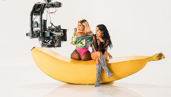 Becky G confirmó que realizará una colaboración con Anitta. (Foto: @iambeckyg)