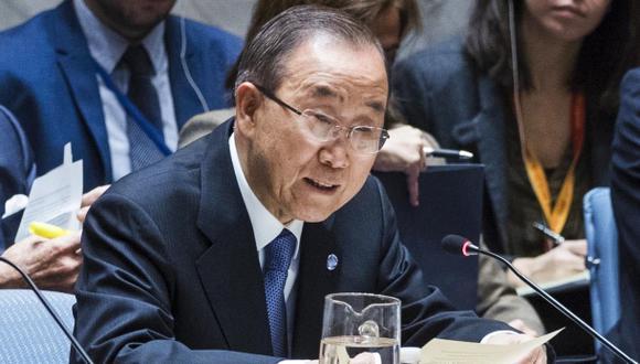 "Ban Ki-moon: ""Nombren mujeres competentes para la ONU"""