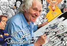 Mort Drucker, emblemático caricaturista de la revista Mad, falleció a los 91 años