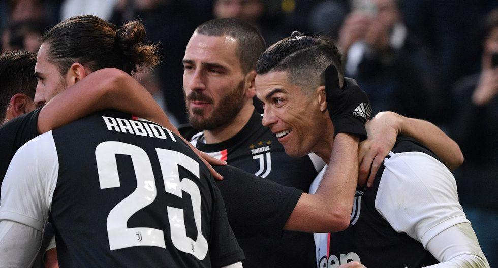 Juventus, con Cristiano Ronaldo, enfrenta a Udinese por la Serie A. Conoce las horas y canales de transmisión de todos los partidos de hoy, miércoles 15 de enero. (AFP)