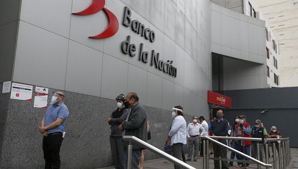 La ministra del Midis pidió a los peruanos no acercarse al Banco de la Nación. Pronto se anunciarán las modalidades de pago. (Foto: Andrés Paredes / GEC)