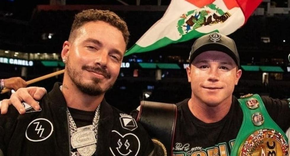J Balvin challenged 'Canelo' Álvarez to a fight, and the boxer's response surprised the singer