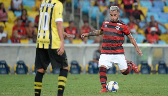 Trauco había pedido a sus seguidores que alienten al 'Mengao'. (Foto: @Flamengo)