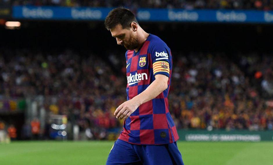 Lionel Messi pensó dejar el Barcelona por los líos con el fisco español. (Foto: AFP)