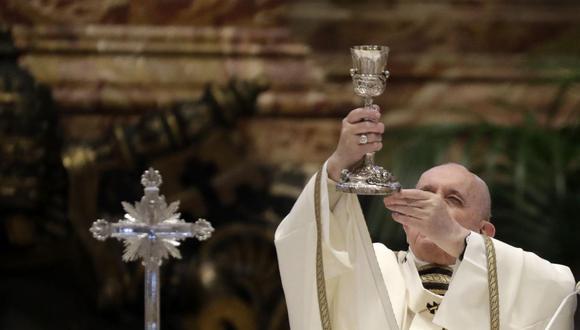 El papa Francisco presidirá el Via Crucis de Viernes Santo.  (Foto: Andrew Medichini/ AFP)