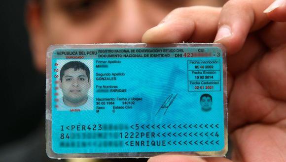 El DNI es el único documento de identificación obligatoria de todo ciudadano y ciudadana peruana (Foto: Andina)
