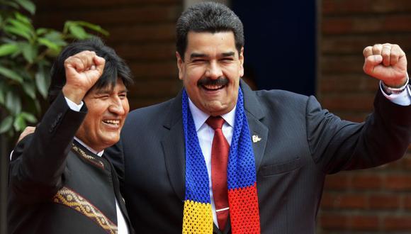 Evo Morales era uno de los mayores aliados de Nicolás Maduro. (Foto: AP)