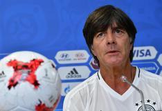 """Joachim Löw optimista: """"Esta Alemania puede ganar la Copa Confederaciones"""""""