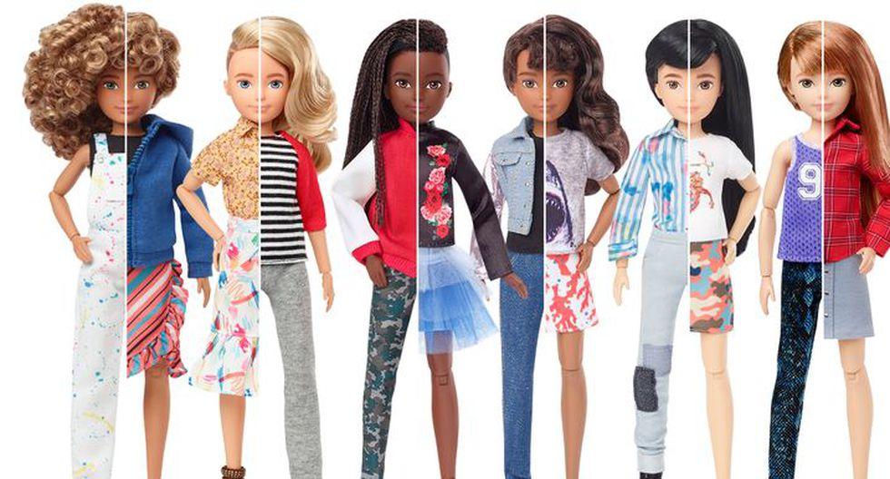 Mattel lanza su nueva colección totalmente inclusiva (Foto: Mattel)