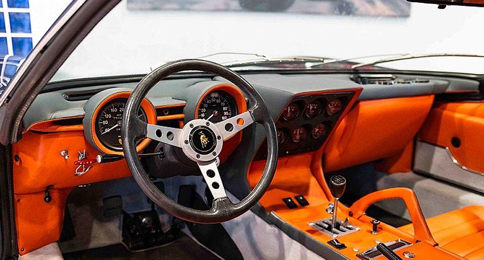 Solo se crearon 150 ejemplares del Lamborghini Miura SV, modelo que es considerado el primer superdeportivo de la época. (Fotos: Lamborghini).
