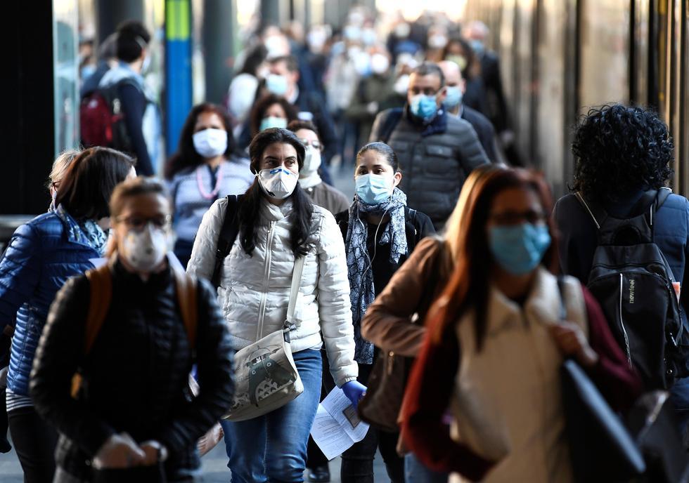 Más de 4 millones de ciudadanos de Italia regresaron este lunes a sus trabajos tras el levantamiento gradual del confinamiento por coronavirus. (Foto: REUTERS/Flavio Lo Scalzo).