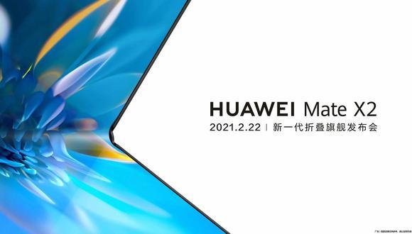 Huawei Mate X2. (Imagen: Huawei)