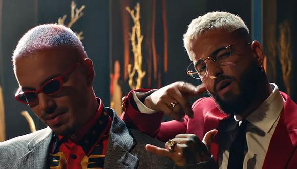"""Maluma y J Balvin estrenaron """"Que pena"""", su primera canción juntos. (Foto: Captura de YouTube)"""