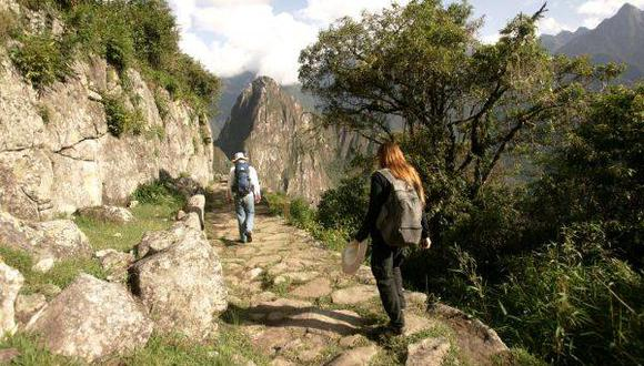 Alrededor de 5.000 turistas visitaron Machu Picchu hoy.