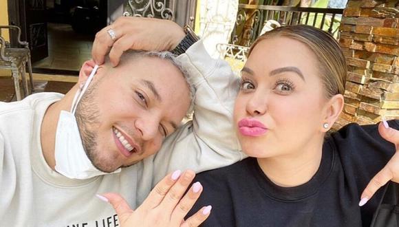 'Chiquis' Rivera y Lorenzo Méndez fueron captados juntos en California tras admitir que estaban atravesando una crisis matrimonial. (@lorenzomendez7).