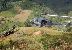 Vraem: destruyen 6 pozas demaceración de cocaína y 2 laboratorios clandestinos
