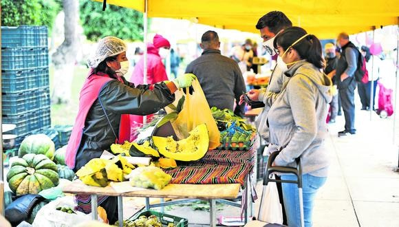 Los mercados itinerantes se ubican en todo el país. (Foto: GEC)