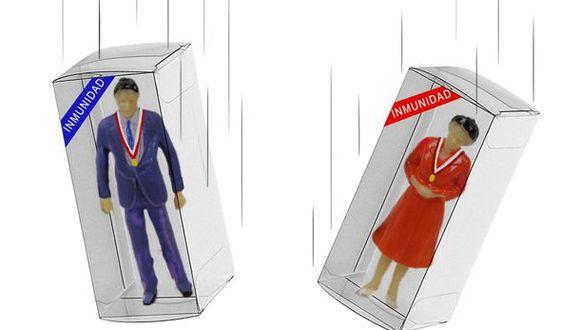 Bien pensado, la inmunidad que blinda a los congresistas contra procesos y arrestos le cuesta un ojo de la cara al Parlamento. (Ilustración: Giovanni Tazza/El Comercio)
