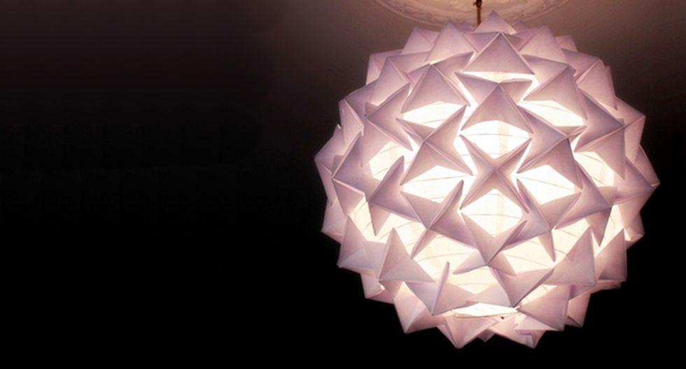con lámpara Aprende techo Ideas de hacer tu propia origami a wkXnZN0O8P
