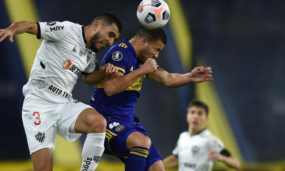 Boca vs. Mineiro por octavos de la Libertadores   Foto: AFP