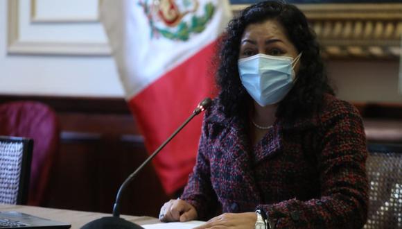 Karol Paredes también lidera la Comisión de Ética. (Foto: achivo Andina)