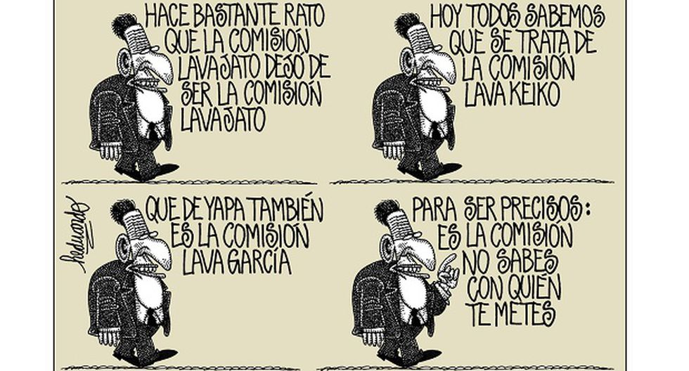 """""""Mi comisión"""". Heduardicidios. Viñeta de Heduardo publicada el 13-12-2017."""