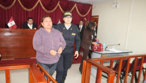 La acusada participará de las audiencias a través de videoconferencia. (Foto: Ministerio Público)