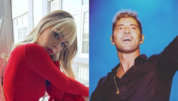 """""""Vuelve"""", la nueva canción de Danna Paola y David Bisbal. (Foto: @dannapaola/@davidbisbal)"""