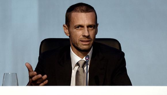 El presidente de la UEFA, Aleksander Ceferin, se pronunció en contra de la creación de la denominada Superliga Europea | Foto: UEFA