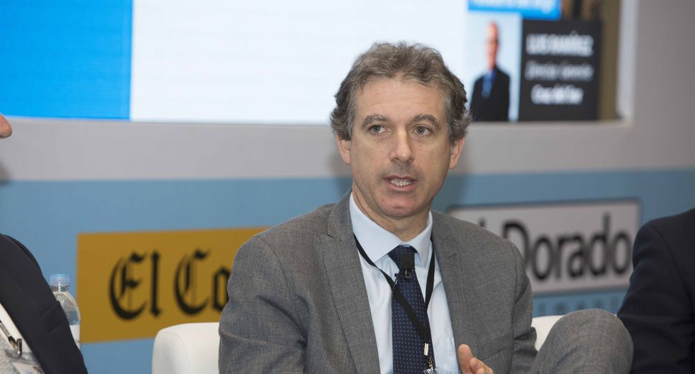 Juan Pablo García, CEO de Siderperu (Foto: El Comercio)