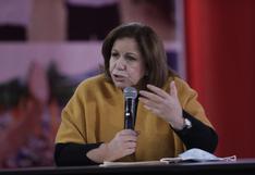 """Lourdes Flores Nano: """"Solo esperamos que el JNE se ponga del lado correcto de la historia"""""""
