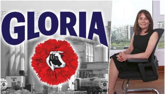 Valeria Flen es la nueva gerente general de Leche Gloria S.A. (Foto: Difusión | Composición: El Comercio)
