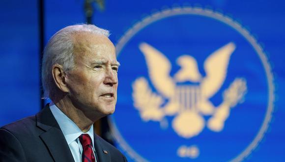 Joe Biden promete 100 millones de dosis de la vacuna contra el coronavirus en sus primeros 100 días como presidente de Estados Unidos. (REUTERS/Kevin Lamarque).